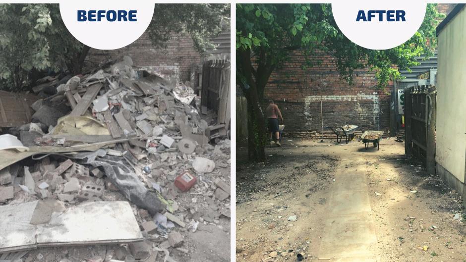 Rubbish Removal & Garden Clearance in Birmingham